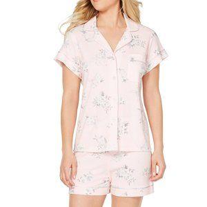 NWT Miss Elaine 2-Piece Short Sleeved Pajama Set